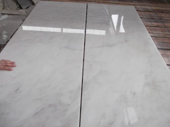 Popular Gx White Marble Tile China White Marble