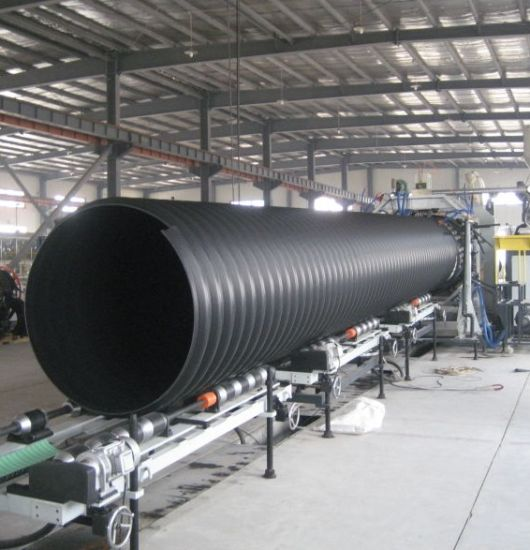 Dn 500 mm Double-Wall Corrugated PE Pipe