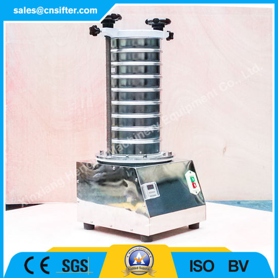 Industrial Automatic Mechanical Vibrating Test Sieve Shaker