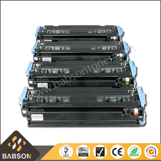 Remanufactured Color Printer Cartridge for HP Q6000/6001/6002/6003A with Ce, RoHS, ISO9001, ISO14001 pictures & photos
