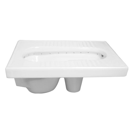 High Quality Ceramic Sanitaryware Squat Toilet Pan (SY-026) pictures & photos