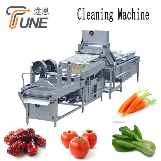 Best Price Automatic Food Fruit and Vegetables Cleaning Air Bubble Washing Machine