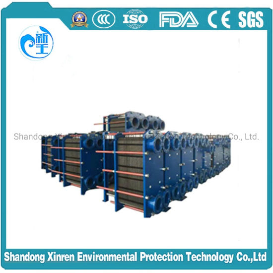 M3/M6/M10/M15/M30 SUS318L  Air to Air Heat Exchanger Core  Cooling Black Water pictures & photos