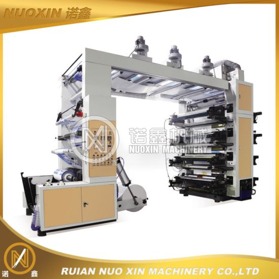 8 Colour Stack Type Flexographic Printing Machine pictures & photos