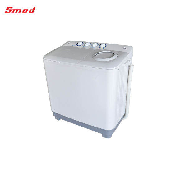 Semi-Auto Top Loading Twin Tub Washing Machine