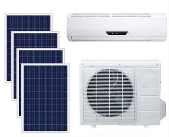 off-Grid Split Type 100% Solar Energy Power Air Conditioning