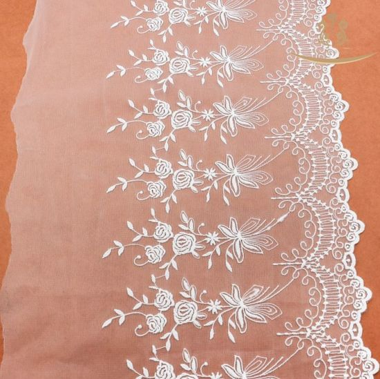 2017 Elegant Fashion Soft Mesh Swiss Voile Lace in Switzerland Lace pictures & photos