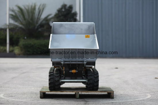 600kg Loading Capacity Hydraulic Mechanical Mini Dumper with Ce for Sale pictures & photos
