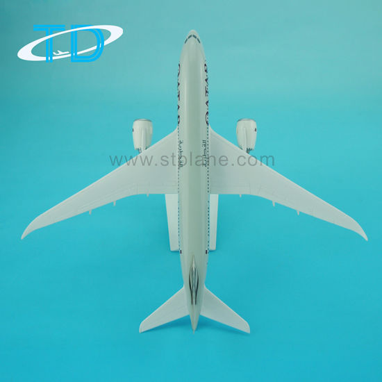 B787-8 Qatar 28cm Airplane Model Perfect Gift for Pilots and Collectors pictures & photos