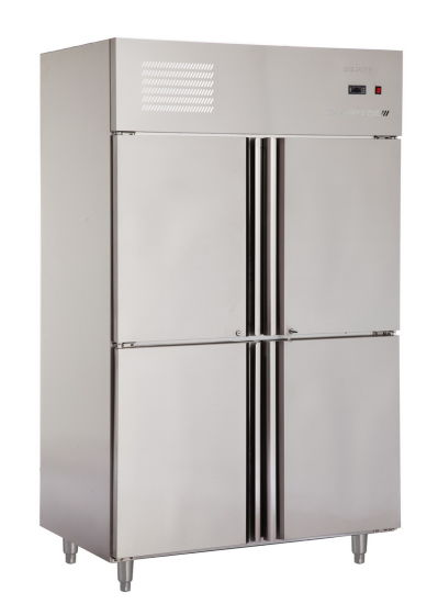Cheering Commercial Four Dooor Refrigerator Freezer with Brand Compressor pictures & photos
