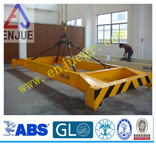 ISO Certificated Semi Automatic Container Lifting Bean Port Use Container Spreader pictures & photos