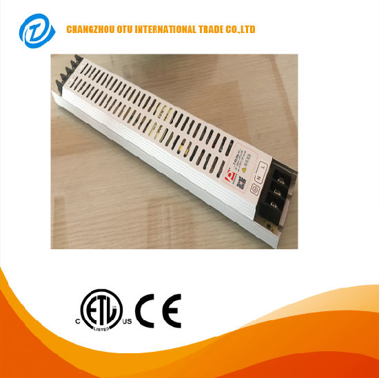250W China Factory AC110V/220V DC5V 12V 24V 48V for LED Strip Light Slim Single Output Swtiching Power Supply pictures & photos