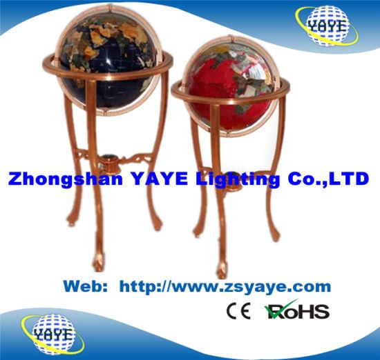 Gemstone World Map.China Yaye 18 Floor Stand 450mm Gemstone Globe World Globe With