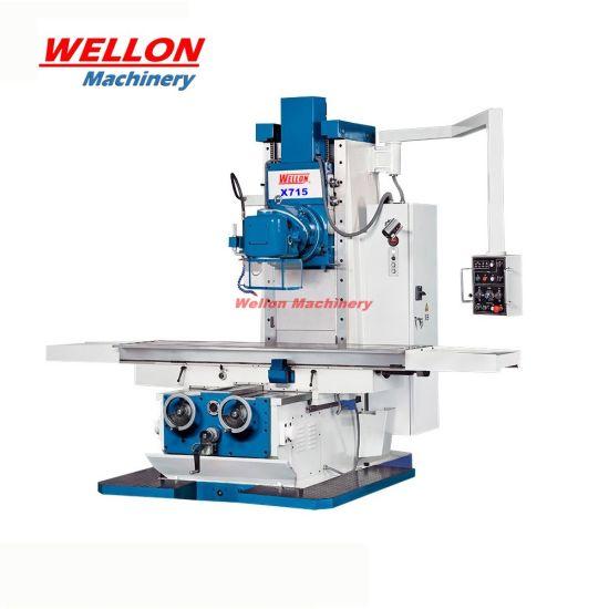 Bed Type Universal Milling Machine (X715 Unviersal Milling Machinery)