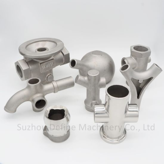 High Precision Custom Stainless Steel Casting CNC Machining Machine Parts for Equipment with Ce