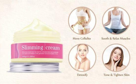 OEM Hot Sell Slimming Gel Effective Arm Leg Stomach Body Slimming Cream
