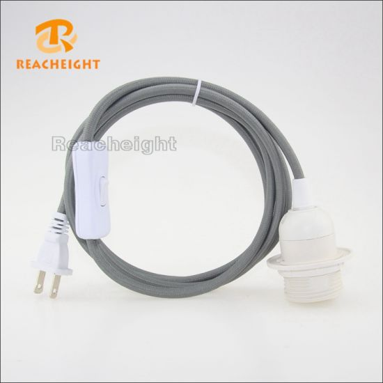 Admirable China Ul Type Braided Lamp Cord Set With Lamp Holder And Switch Wiring Digital Resources Funiwoestevosnl