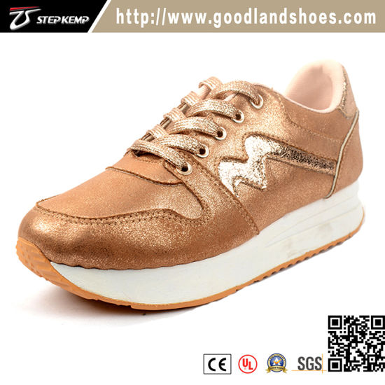New Fashion Lady Bling Bling Injection Sport Running Shoes (EXI-9150)