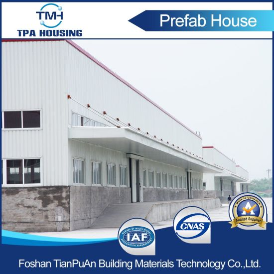 Prefabricated Steel Frame Structure Building for Warehouse and Workshop pictures & photos