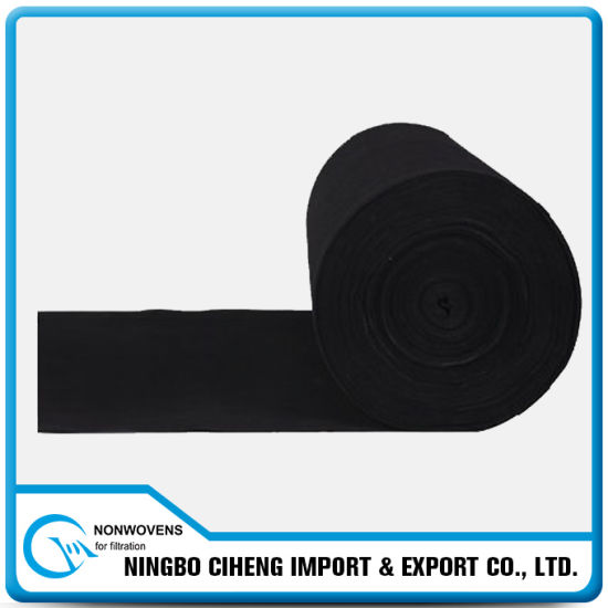 Fabric Roll Needle Punched Activated Carbon Non Woven Felt Cloth