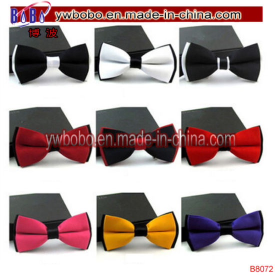 Silky Satin Red PreTied Mens Bow Tie Pre Tied Adjustable Dickie Wedding Prom NEW