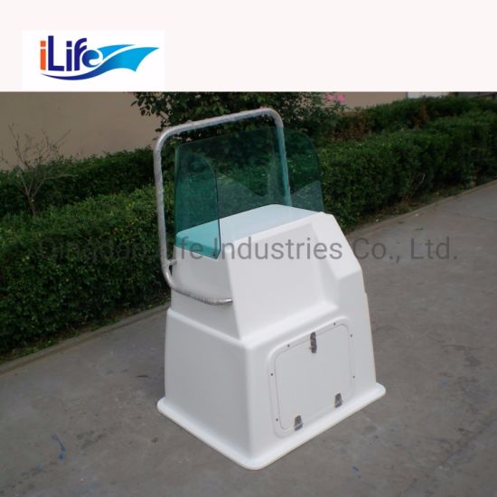 Ilife High Quality Fiberglass Material Center Console and Seat Available for Family Fishing
