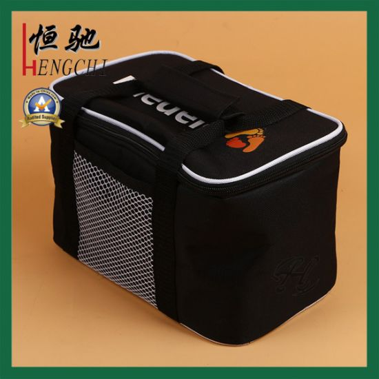 Customized Non Woven Picnic Lunch Cooler Bag for Beer Can