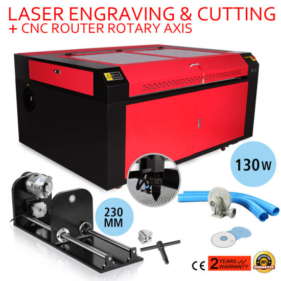 130W CO2 Laser Engraver with Rotary Axis pictures & photos