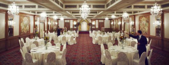 White Spandex Chair Cover For Wedding Hotel And Banquet