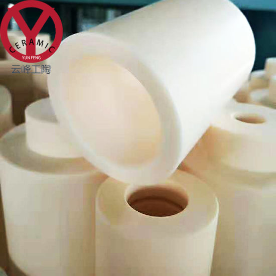 High Alumina Ceramic Cylinder From Pipe Lining Manufacturer