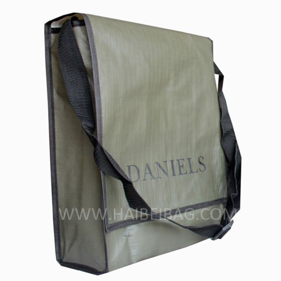 Custom PP Woven Promotional Shoulder Bag pictures & photos