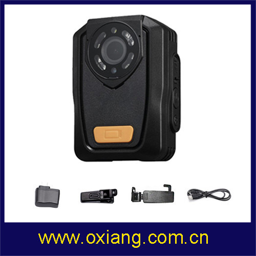 140 Degree Wide Angle Law Enforcement Body Camera Police Body Worn Built in GPS pictures & photos