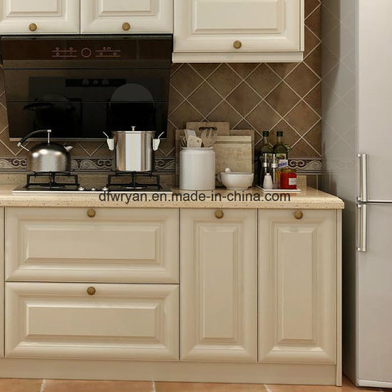 American Style Melamine Particle Board Kitchen Cabinet
