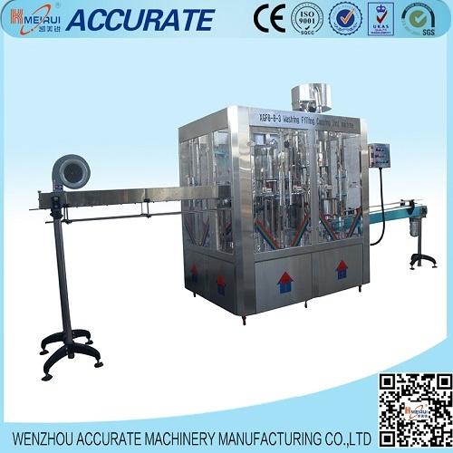 Accurate Monoblock Mineral Water Filling Machine (XGF 8-8-3)