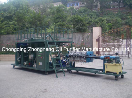 Waste Engine Oil Purifier, Used Black Motor Oil Recycling System