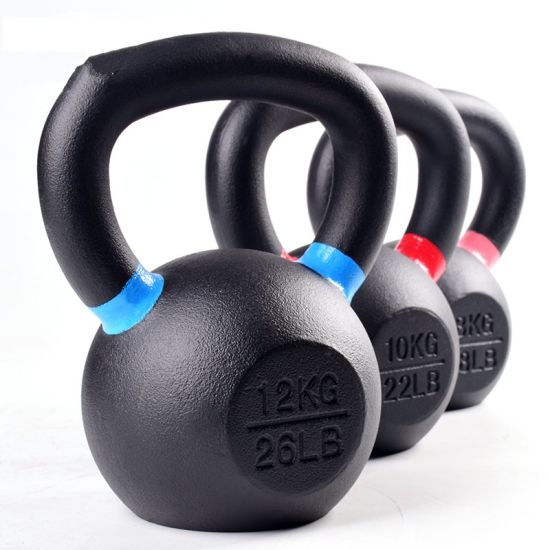 Commercial Fitness Equipment Free Weight Cast Iron Kettlebell