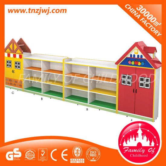 Daycare Wooden Children Toys Storage Cabinets pictures & photos