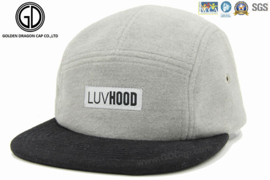 992d5f66cd5 China 2016 High Quality Snapback Cap with Custom Woven Patch Label ...