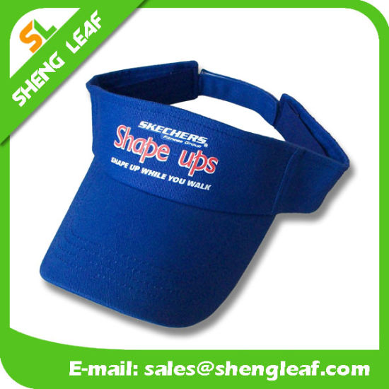 Cheap Funny Promotional Printing Logo Outdoor Sport Sun Visor Caps pictures    photos 49cd3f34831