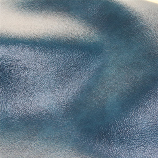 Stock Upholstery Wholesale High Abrasion-Resistant PVC Furniture Sofa Leather pictures & photos