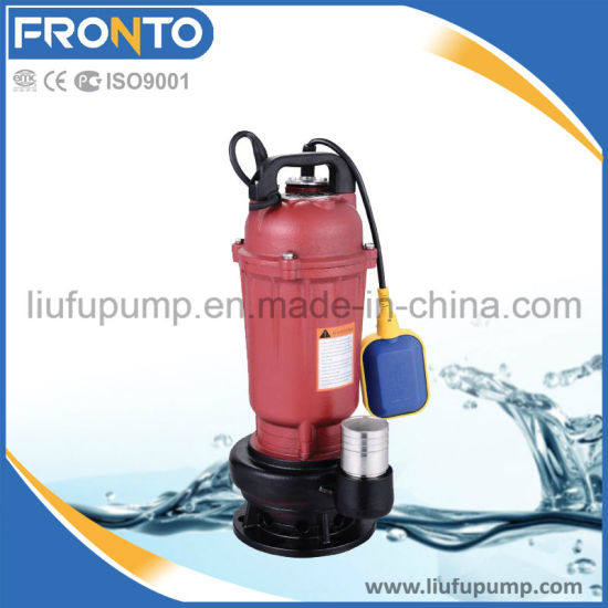 Small Power Submersible Sewage Pump with High Quality pictures & photos