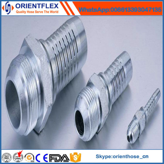 Carbon Steel/Stainless Steel Hydraulic Hose Fittings pictures & photos