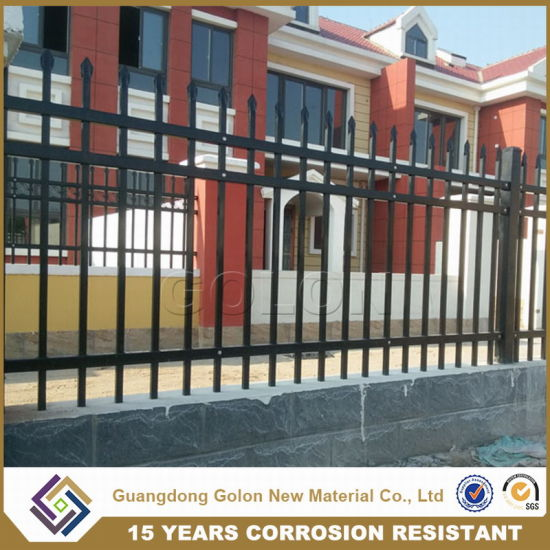 Exterior Ornamental Wrought Iron Residential Fencing pictures & photos