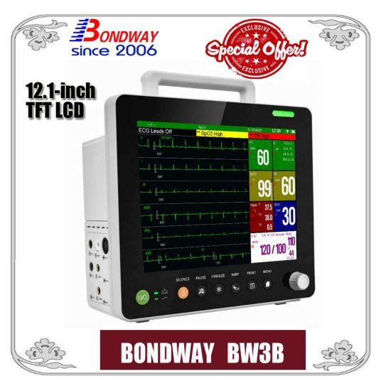 NIBP, ECG, NIBP, Temperature, Pulse Rate, Vital Signs Monitor with Optional IBP, Sidestream Etco2 or Mainstream Etco2