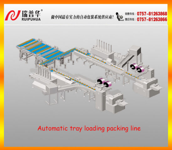 Automatic Tray Loading Packing Line pictures & photos