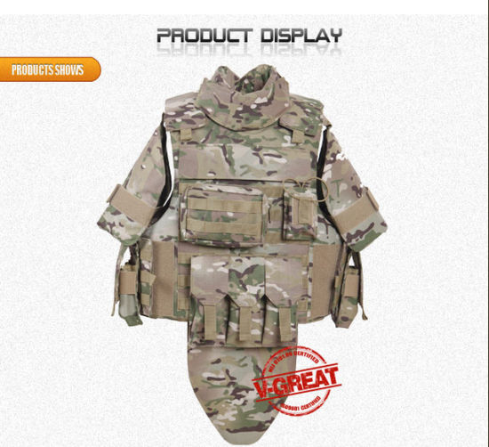 High Quality Military Ballistic Vest/Bodyarmor (V-PRO053)