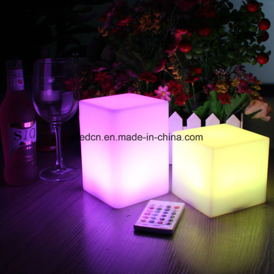 Modern Furniture Decorative Mini LED Lights Cube Lamp for Sale pictures & photos