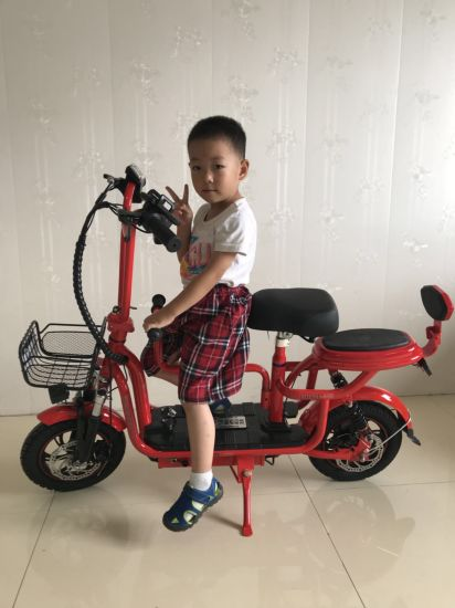 Mini Electric Bike with Two Seat Adjustable pictures & photos