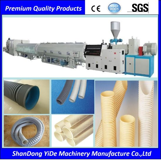 PVC/PE/HDPE/PPR Pipe Plastic Extrusion Making Machine