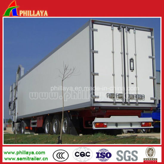 Heavy Duty Transport Bulk Cargo Box Van Trailer pictures & photos